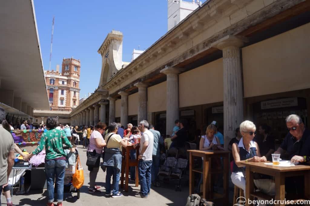 Cadiz food market