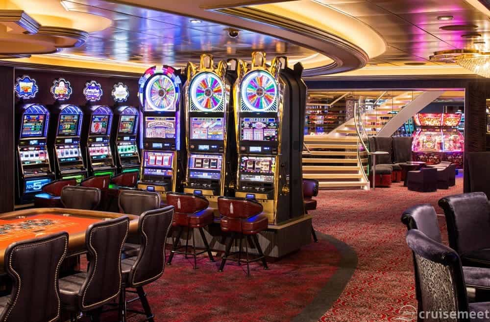 Casino Royale aboard Ovation of the Seas
