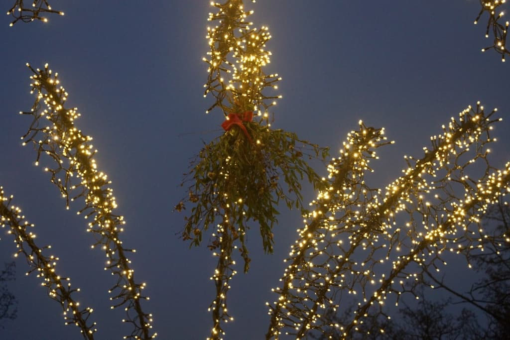 Traditional Christmas market decorations