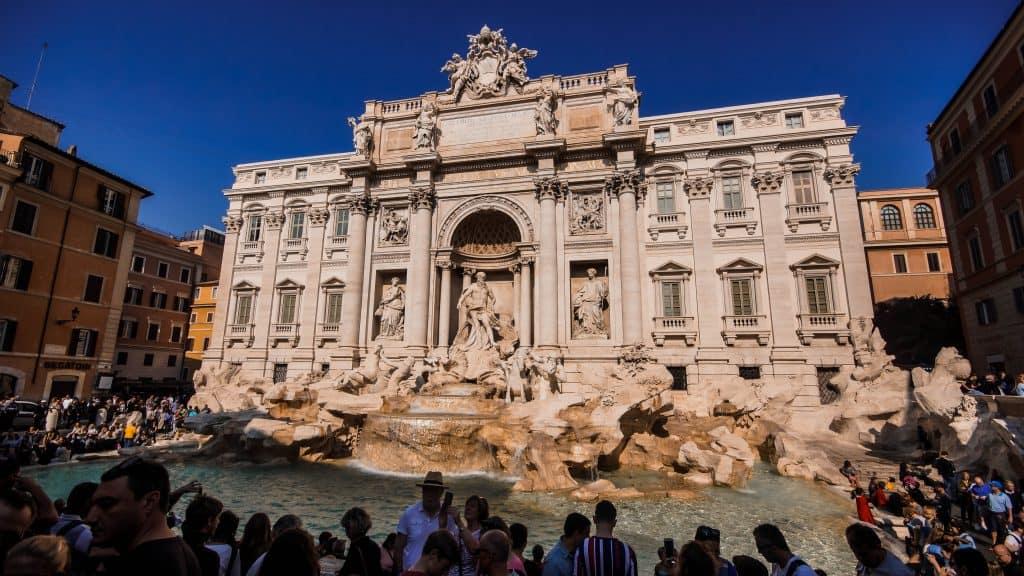 Civitavecchia - Trevi Fountain