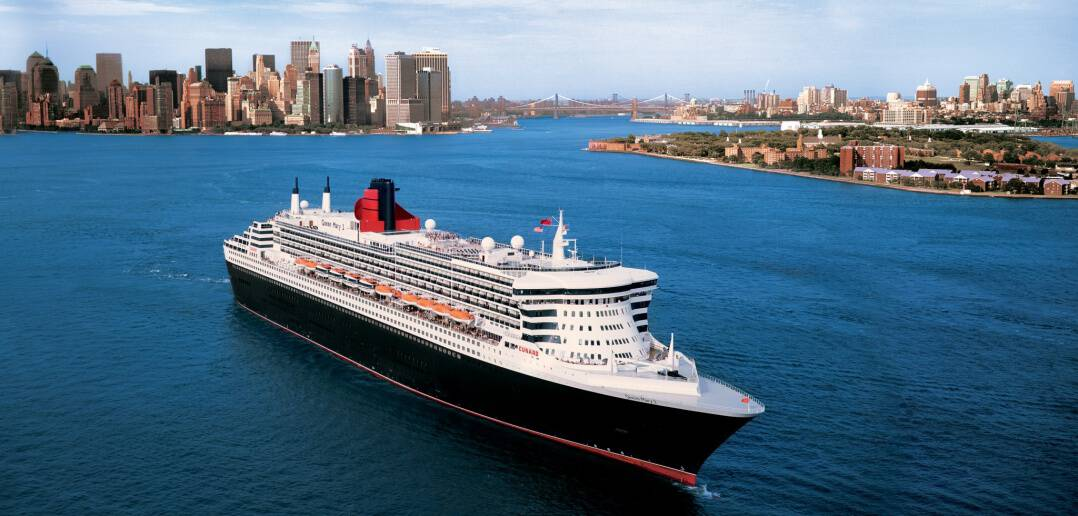 Cunard Line's Queen Mary 2 in New York