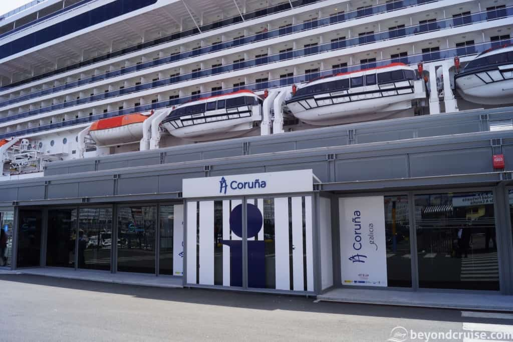 La Coruna cruise port terminal