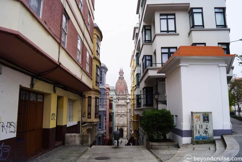 La Coruna typical street