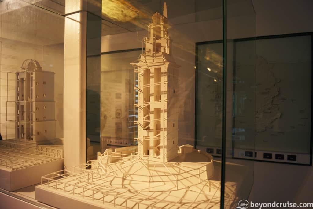 La Coruna Tower of Hercules visitor centre