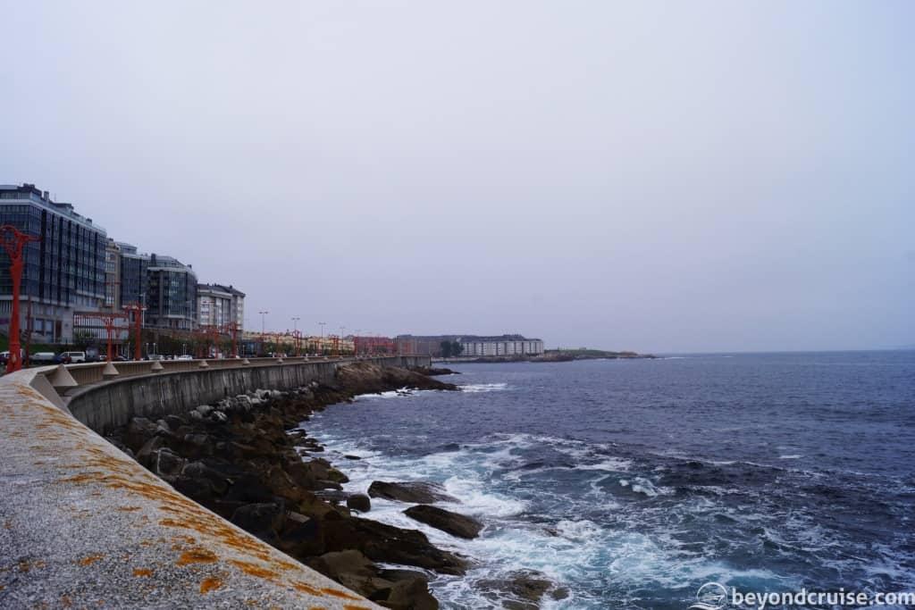 La Coruna waterfront