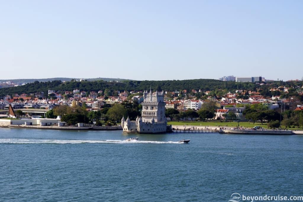 Lisbon Belem Tower on the River Tagus