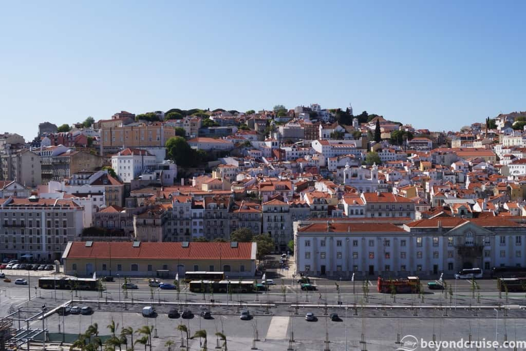 City of Lisbon on the River Tagus