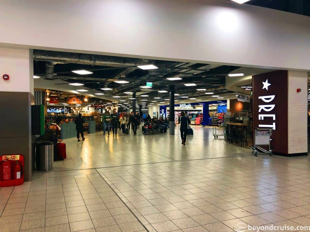 Luton Airport Arrivals & Departures hall
