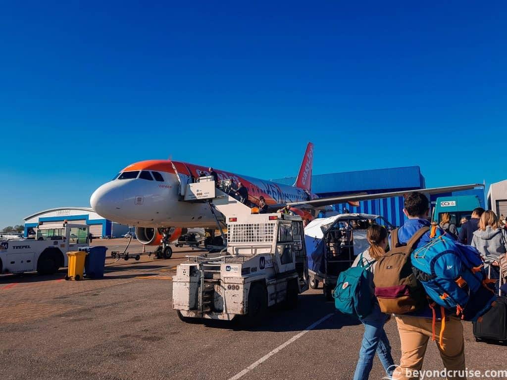 EasyJet EZ2001 ready to take us to Marseille!
