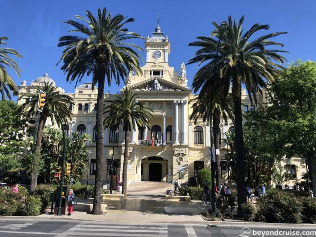 Malaga city hall