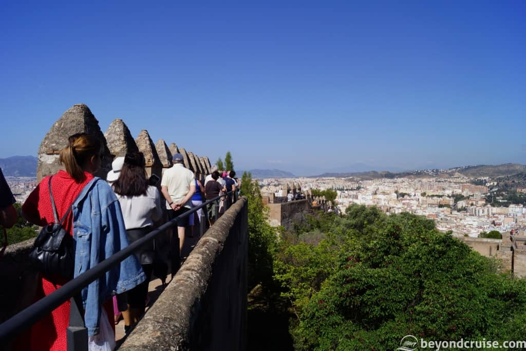 Malaga MSC Cruises excursion Alcazaba Fort