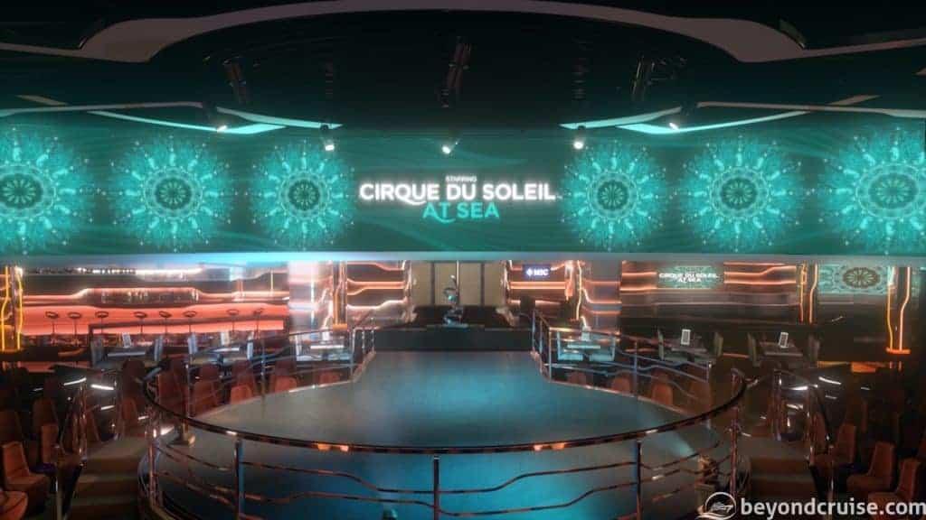 MSC Bellissima - Carousel Lounge (render)