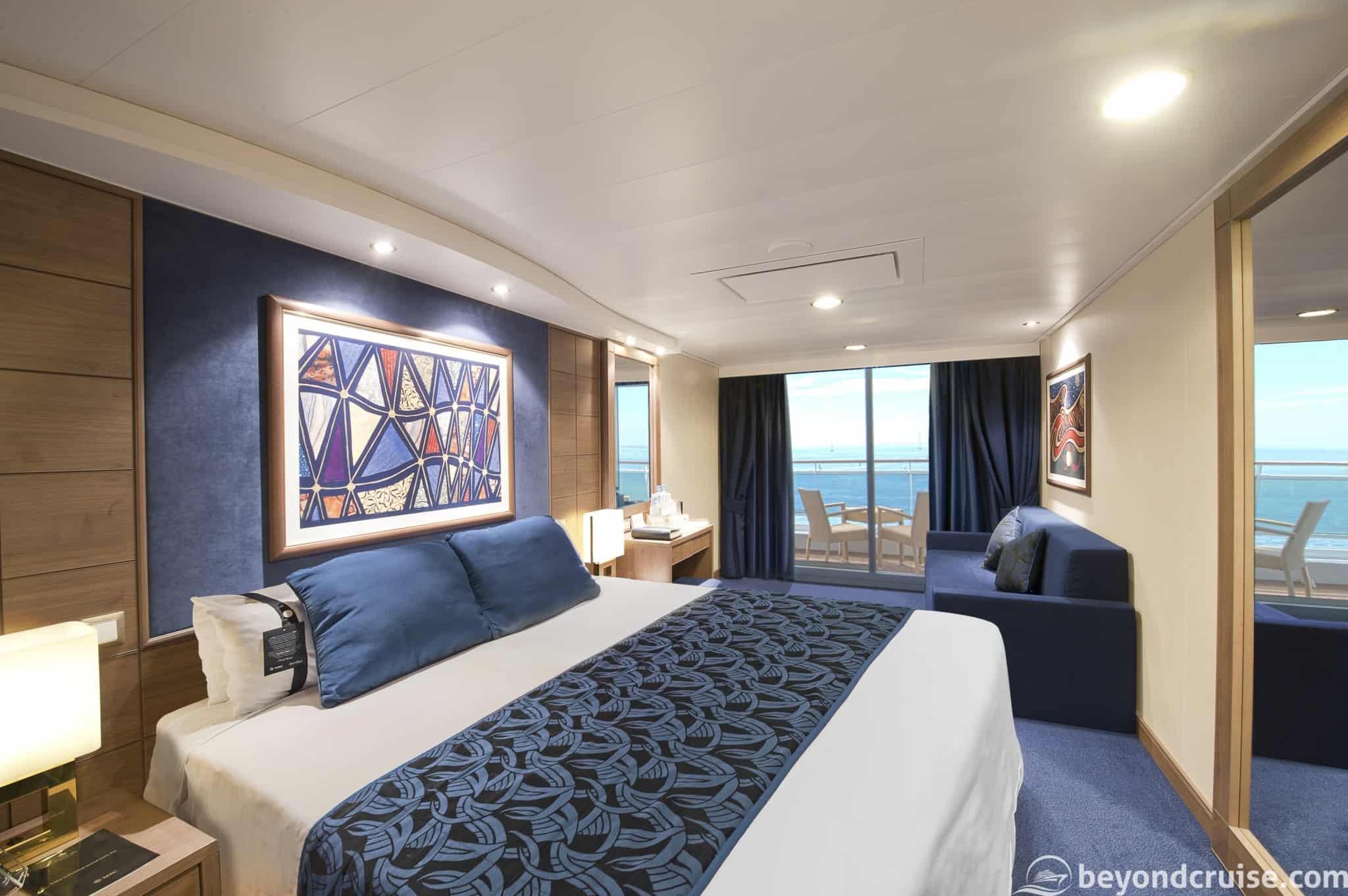 MSC Magnifica Balcony cabin