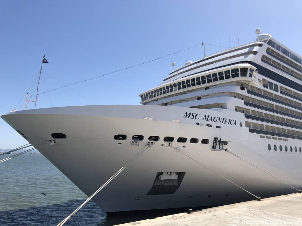 MSC Magnifica at Lisbon Cruise Terminal