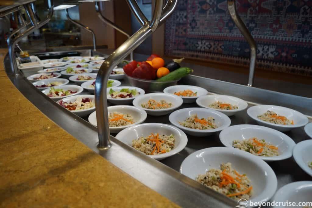 MSC Magnifica salad selection