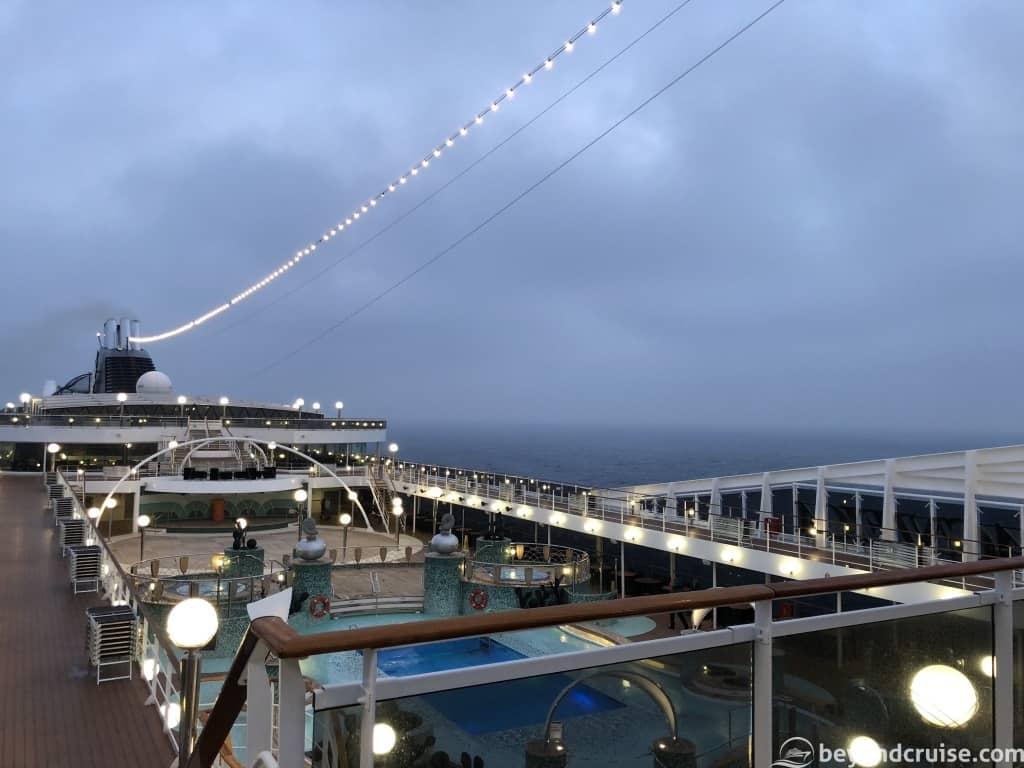 MSC Magnifica Deck 13 dusk