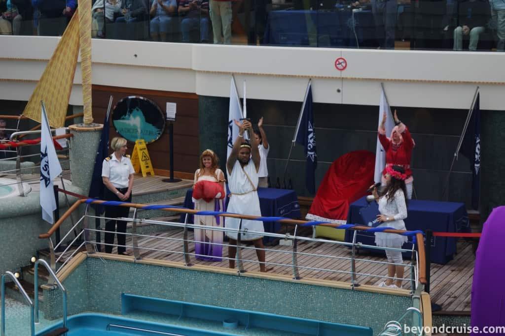 MSC Magnifica Hercules Baptism