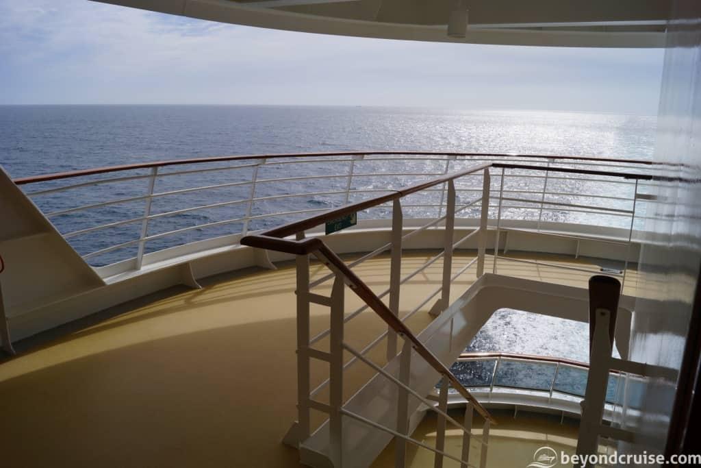 MSC Magnifica hidden area Deck 12 left