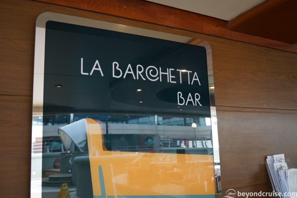 MSC Magnifica La Barchetta Bar