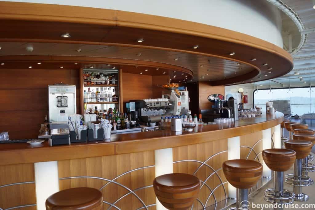 MSC Magnifica La Conchiglia Bar