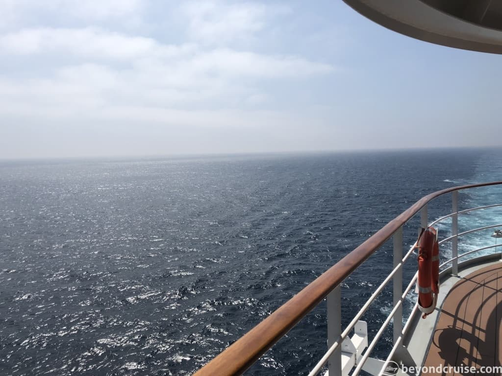 MSC Magnifica Mid-afternoon view during sea day