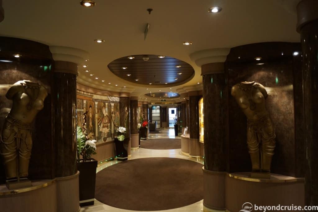 MSC Aurea Spa entrance