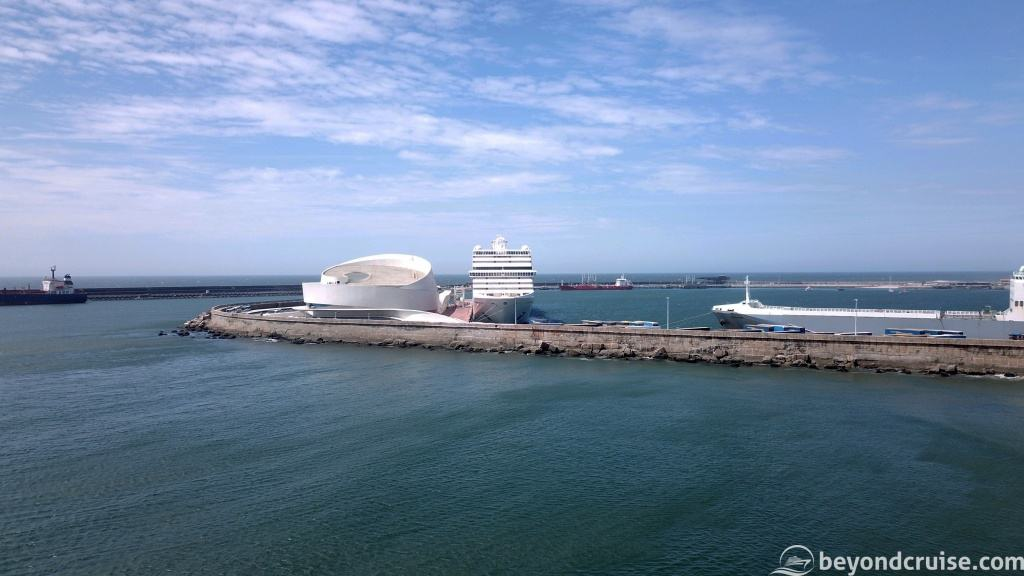 MSC Magnifica in the port of Leixoes