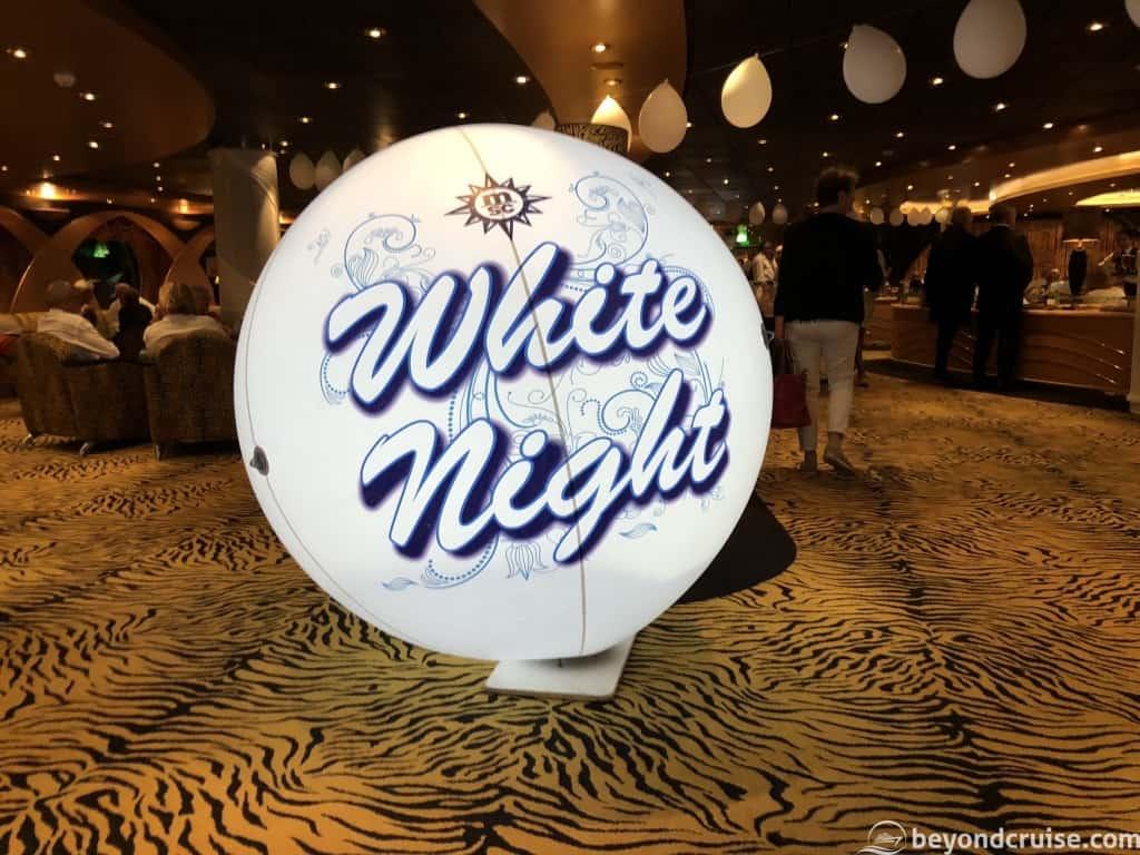 MSC Magnifica - White Night