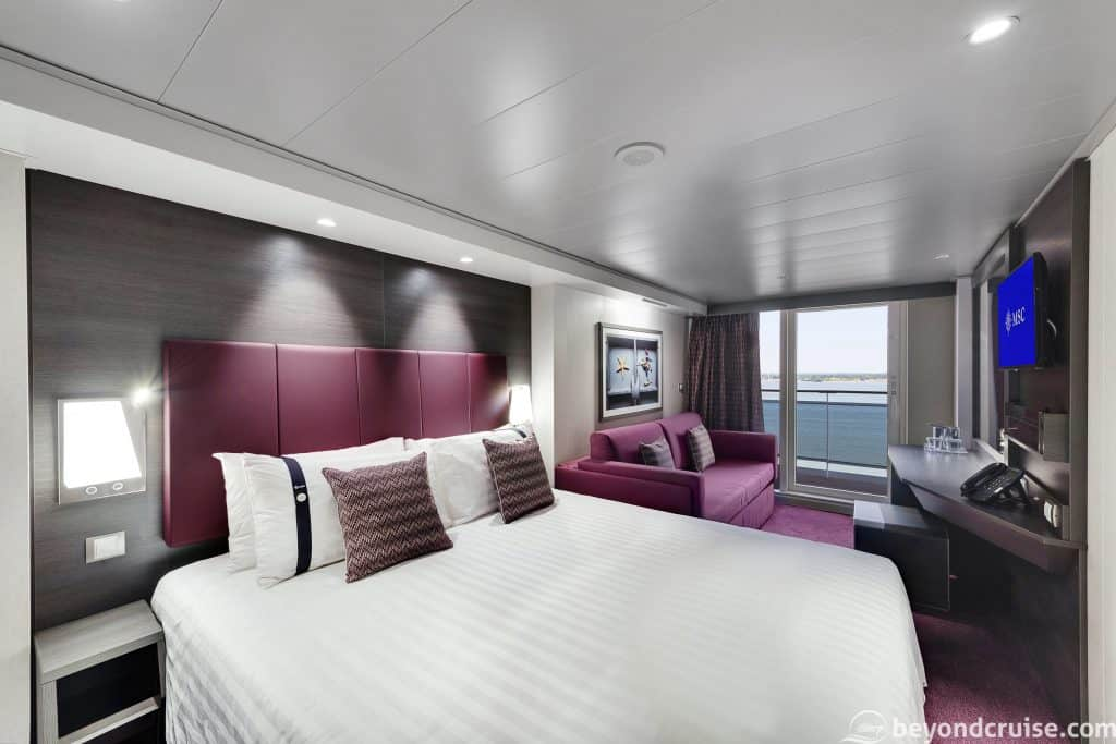 MSC Meraviglia Balcony Cabin