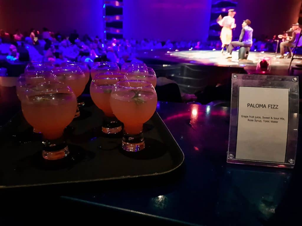 Cirque Du Soleil At Sea – Cocktails!