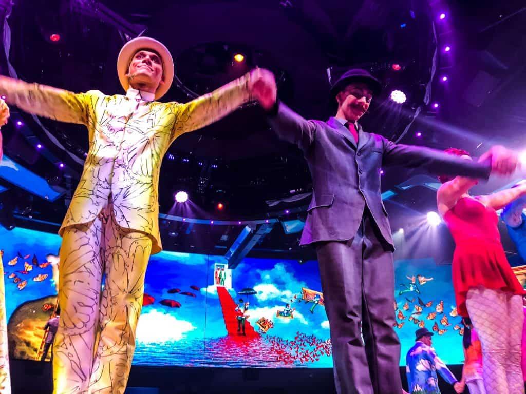 Cirque Du Soleil At Sea – Viaggio Cast