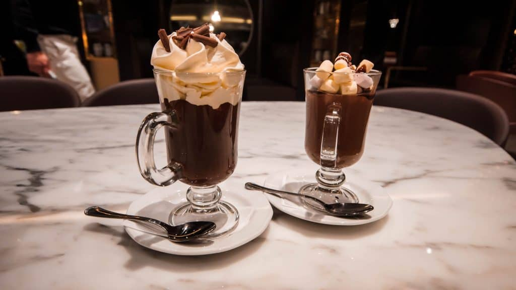 MSC Meraviglia Jean Philippe Hot Chocolates
