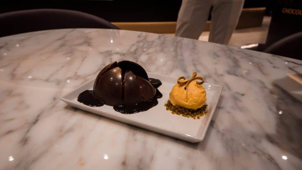 MSC Meraviglia Jean Philippe Chocolate Lava Cake
