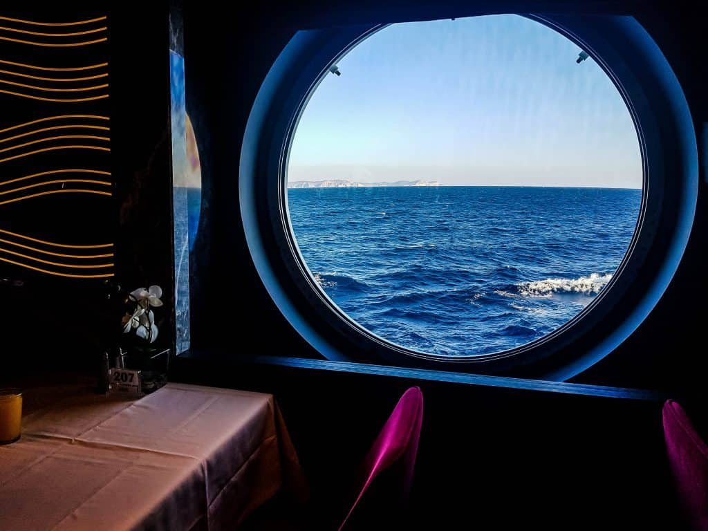 MSC Meraviglia, Waves Main Dining Room, View