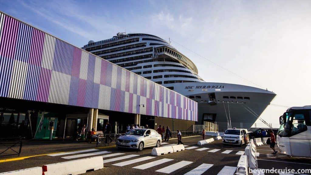 MSC Meraviglia in Marseille