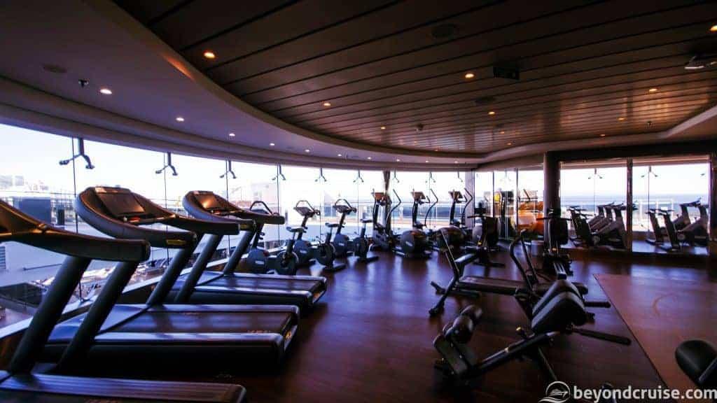 MSC Meraviglia Gym by Technogym