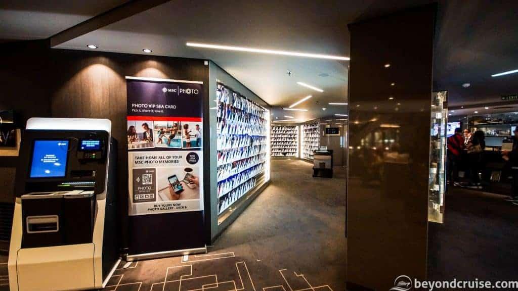 MSC Meraviglia MSC Photo Shop