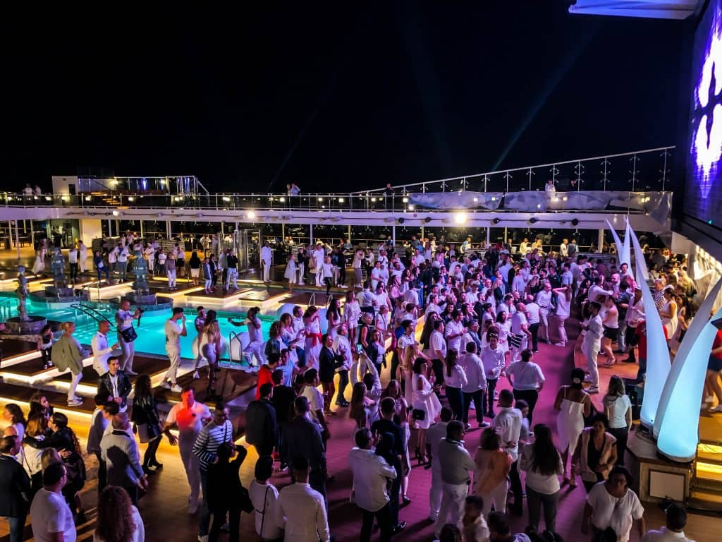 MSC Meraviglia White Party