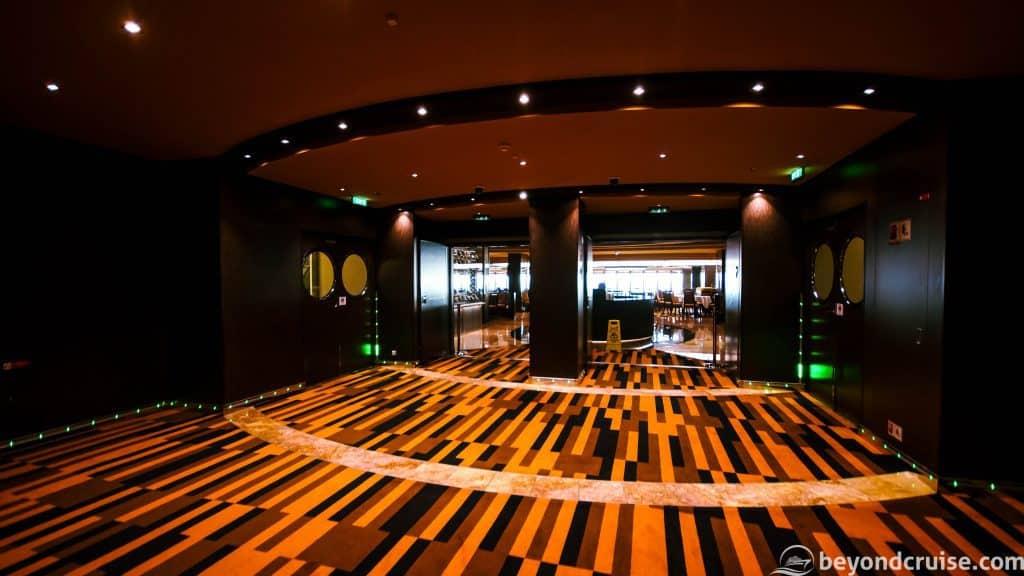 MSC Meraviglia Panorama Restaurant