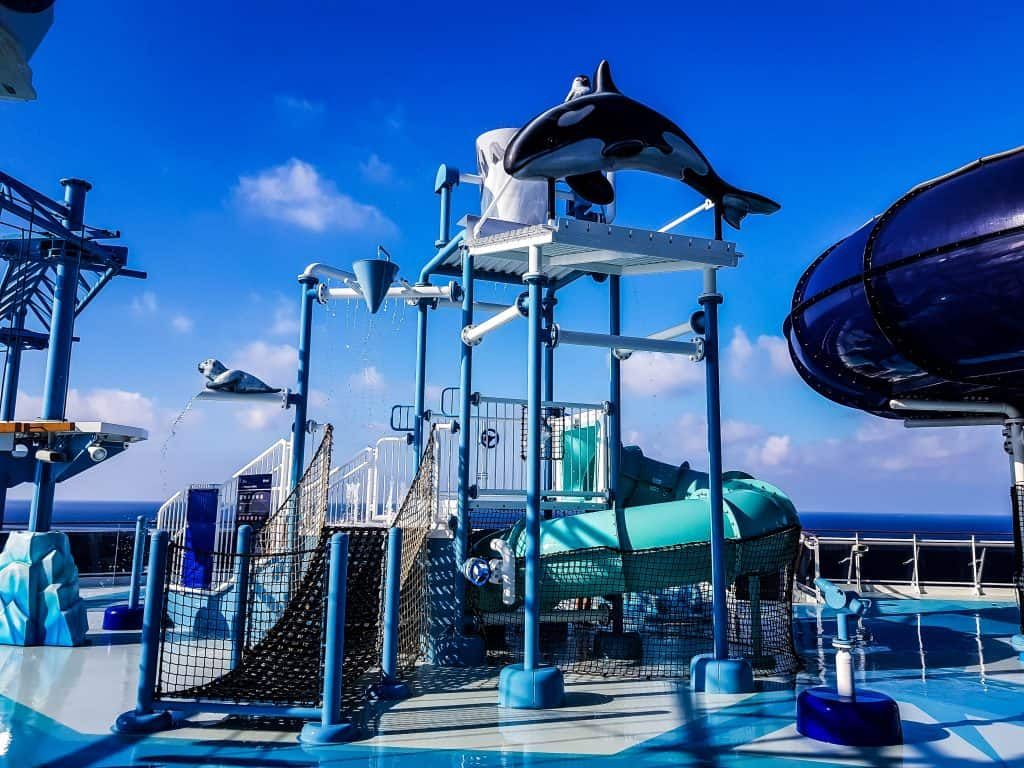 MSC Meraviglia Polar Aquapark Water Playground