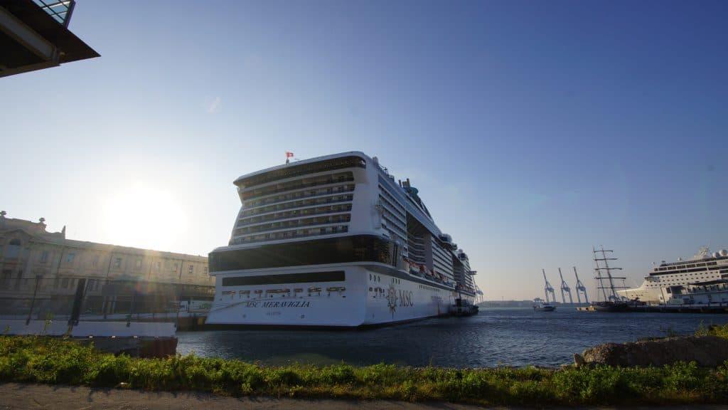 MSC Meraviglia in Genoa