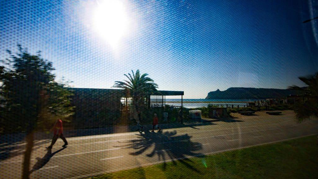 """Cagliari Beach and """"The Devil's Saddle"""""""