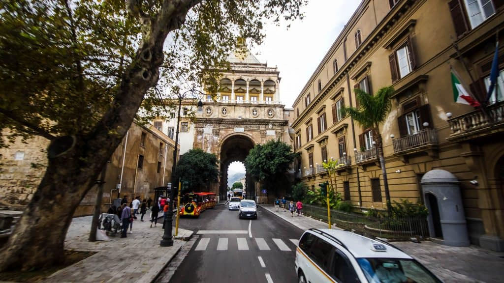 Palermo city gates
