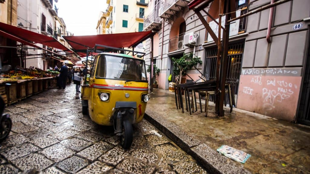 Palermo - Tuk tuk local transport