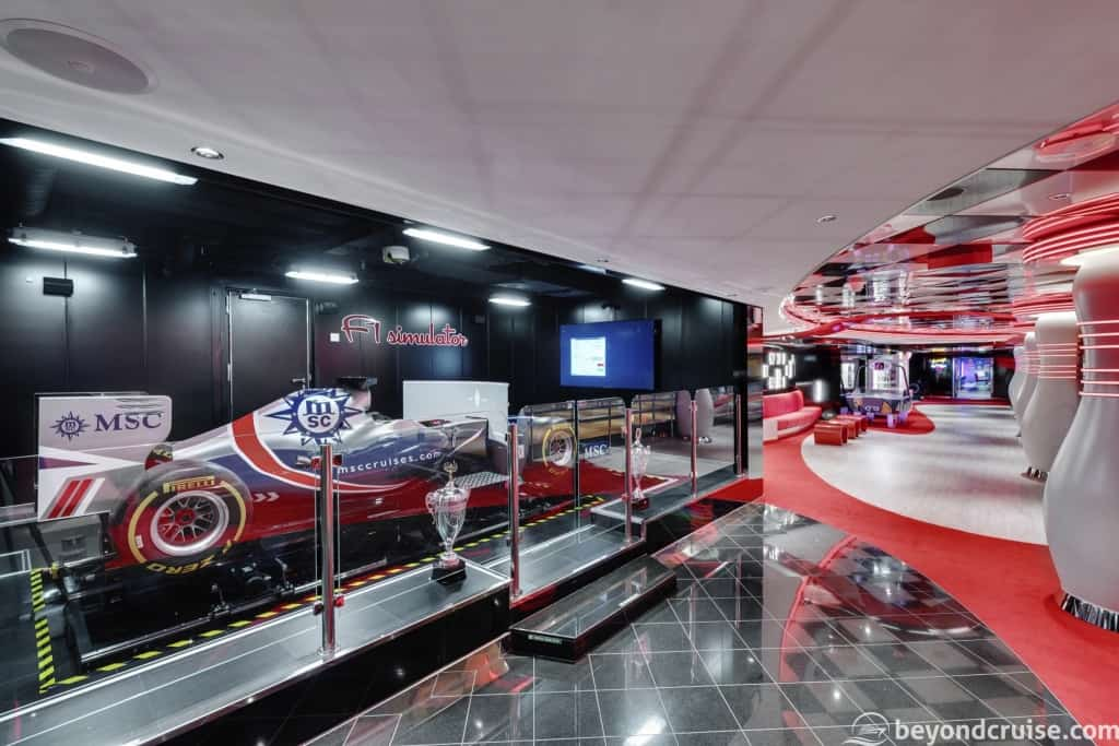 MSC Seaview F1 Simulator
