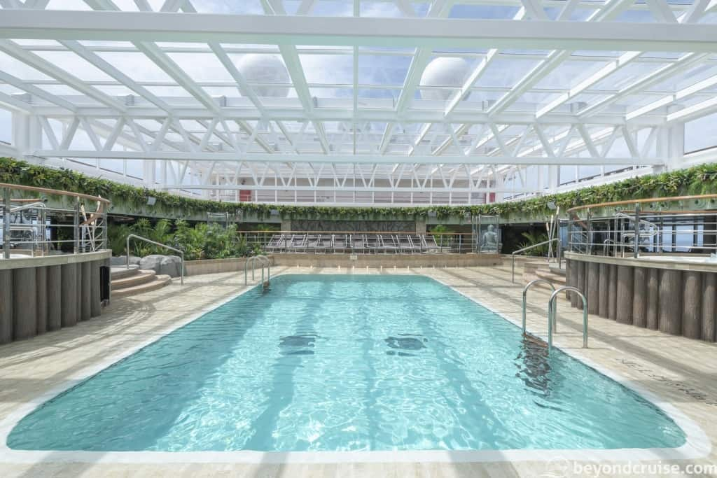 MSC Seaview Jungle Pool