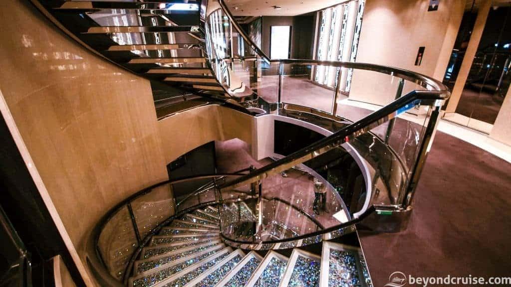 MSC Meraviglia MSC Yacht Club staircase