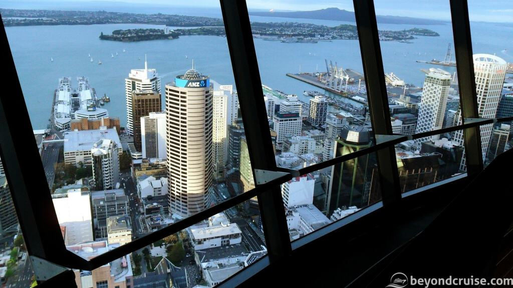View from the SkyTower observation deck