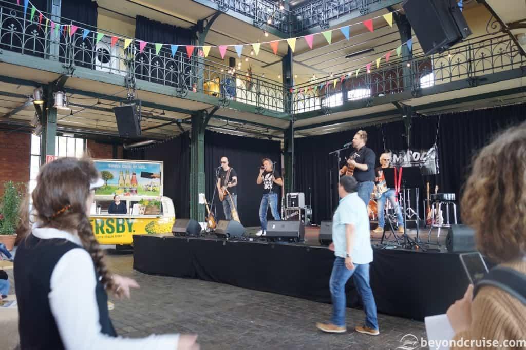 Port of Hamburg 829th Anniversary - Fischmarkt Markets with live bands