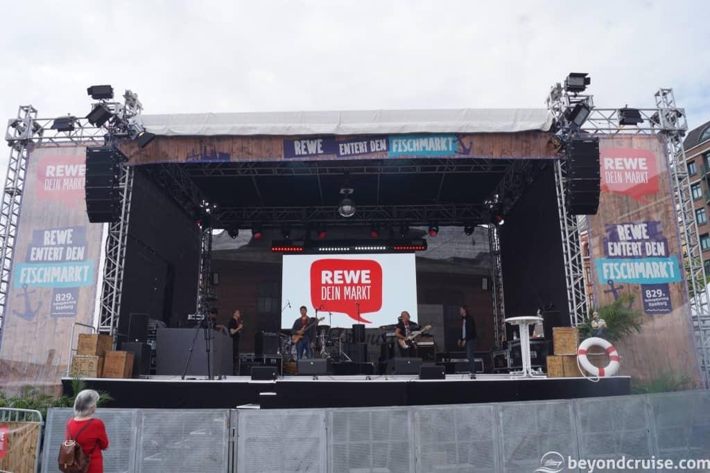 Port of Hamburg 829th Anniversary - Live stage